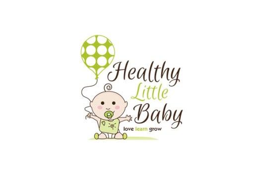 Healthy Little Baby Logo Design
