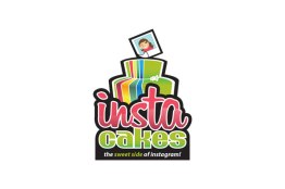 Instacakes Logo Design