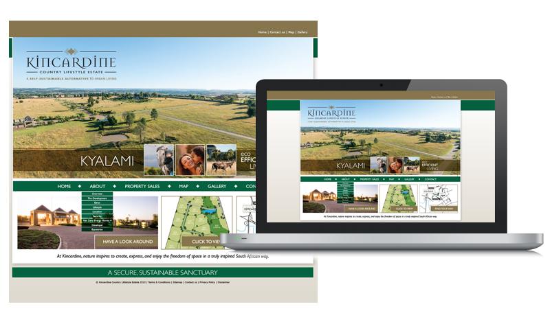 Kincardine Country Lifestyle Estate Web Design Look & Feel
