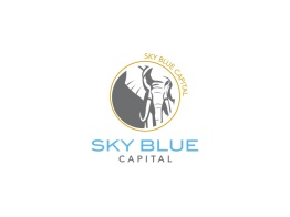 Sky Blue Capital Logo Design