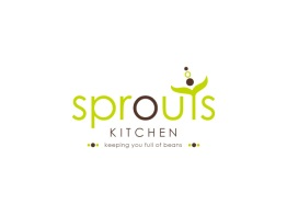 Sprouts Kitchen Logo Design